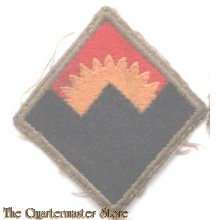 Sleeve patch Western Defence Command