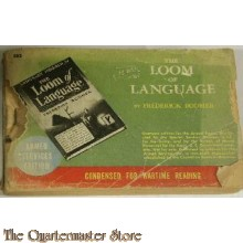 (Booklet WW 2 US Army the Loom of language