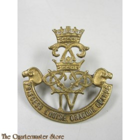 Capbadge The 4th Princess Louise Dragoon Guards WW2