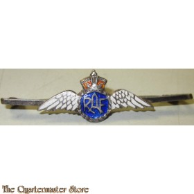 WW2 Royal Air Force Pilot's Wing RAF Silver & Enamel