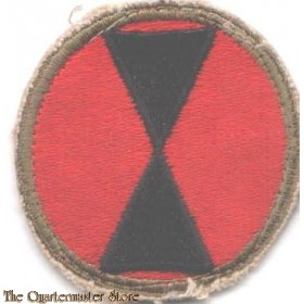 Mouwembleem 7th Infantry Division (Sleeve patch 7th Infantry Division) 8c3d84933fc